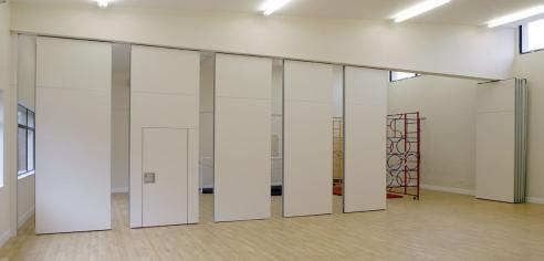 Acoustic movable partition